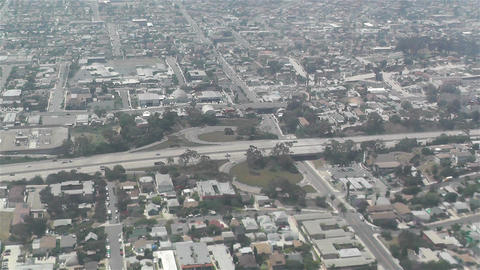 San Diego Suburb Aerial 1 Stock Video Footage