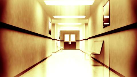 Scary Hospital Corridor 2 Animation