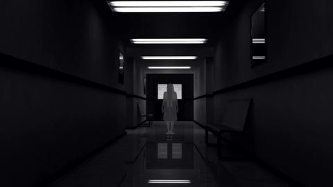 Scary Hospital Corridor 4 Animation