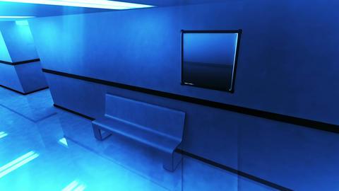 Scary Hospital Corridor v 2 4 Stock Video Footage