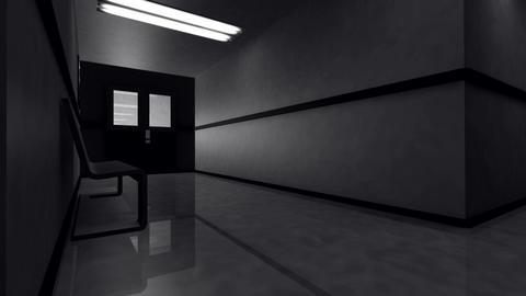 Scary Hospital Corridor v 3 2 Stock Video Footage