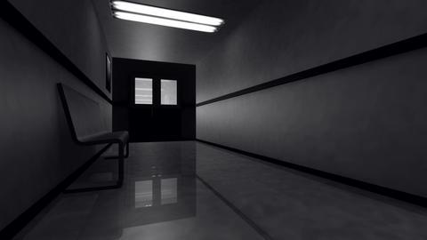 Scary Hospital Corridor v 3 2 Animation