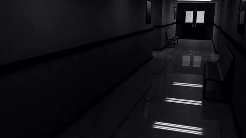 Scary Hospital Corridor v 4 2 Animation