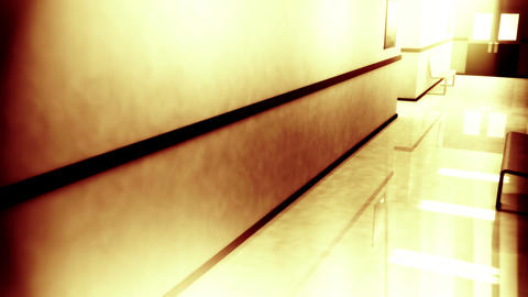 Scary Hospital Corridor Yurei 8 Stock Video Footage
