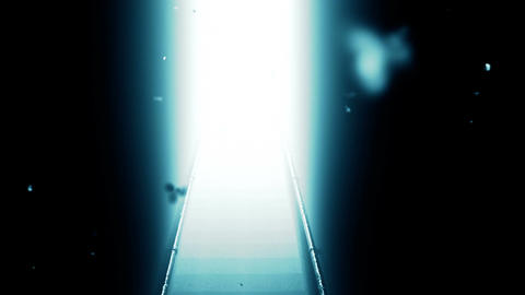 Scary Stairs Yurei Ghost Shape Appear v 2 6 Stock Video Footage