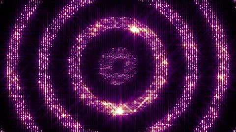 Shining Circles 4 Stock Video Footage