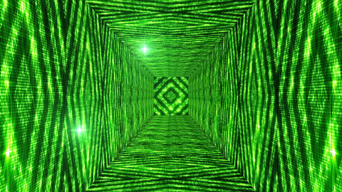 Shining Squares Tunnel 2 Animation