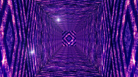 Shining Squares Tunnel 4 Animation