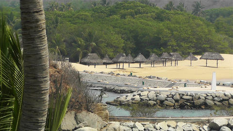Tropical Paradise in Mexico 6 Stock Video Footage