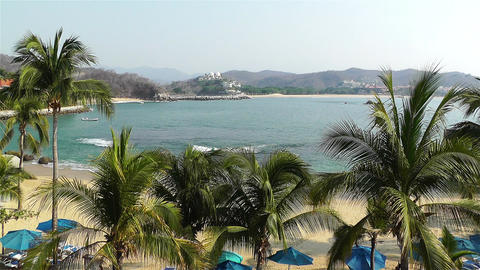 Tropical Paradise in Mexico 20 Stock Video Footage