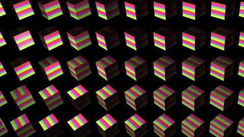 cube 01 Stock Video Footage
