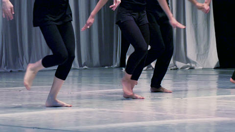 Contemporary choreography Stock Video Footage