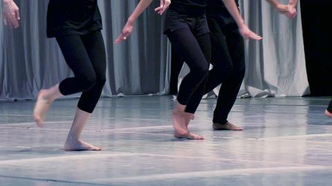 Contemporary choreography Stock Video Footage