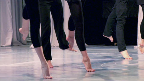 Contemporary choreography Footage