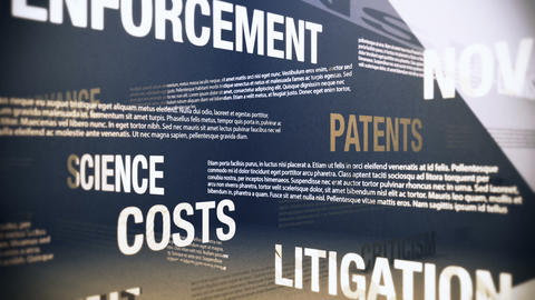 Technology Patents Related Terms Stock Video Footage