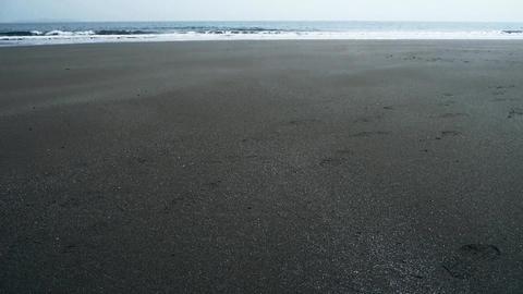 tidal,Ocean waves on the beach Stock Video Footage