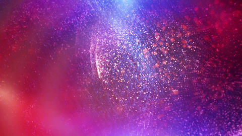Cosmic Particle Background Animation