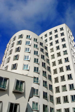 Modern Architecture in Dusseldorf, Germany Photo