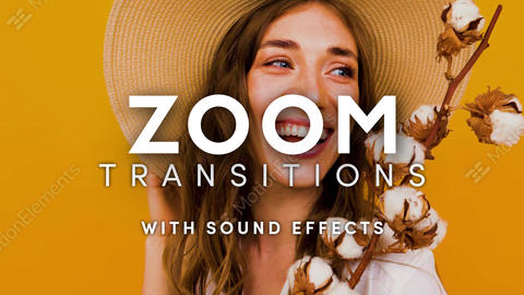 Zoom Transitions After Effects Template After Effects Template
