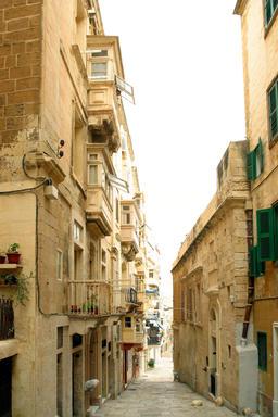 Maltese architecture, typical houses, Malta Photo