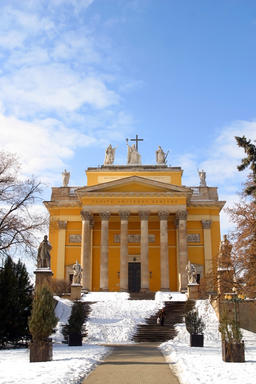 The Baroque Architecture of Eger, Hungary Photo