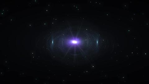 [4k]宇宙空間に漂う星雲