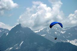 paragliding ภาพถ่าย