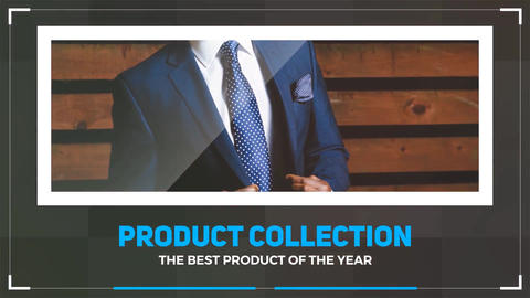 Product Collection After Effects Template