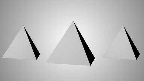 Simple Pyramid 3D Animation