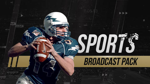 Sports Broadcast Package After Effects Template