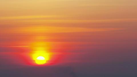 Sunrise, Time Lapse stock footage