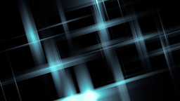 Blue abstract stars Stock Video Footage
