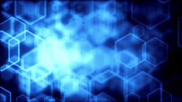 High quality digital background animation, blue version Stock Video Footage
