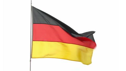 flag Germany Footage