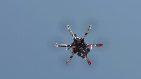 quadcopter 02 Stock Video Footage