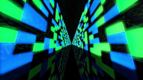 Futuristic Data Center 2 Animation
