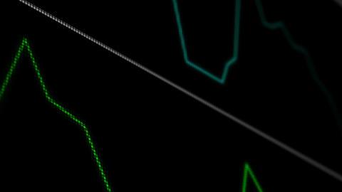 Operation Monitor Macro 8 Stock Video Footage