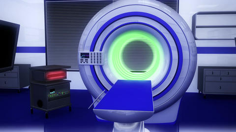 Operation Room MRI CT Machine 19 Animation