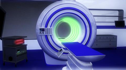 Operation Room MRI CT Machine 19 Stock Video Footage