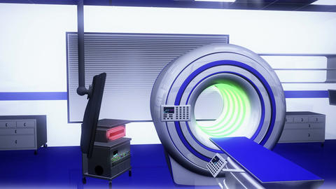 Operation Room MRI CT Machine 23 Animation