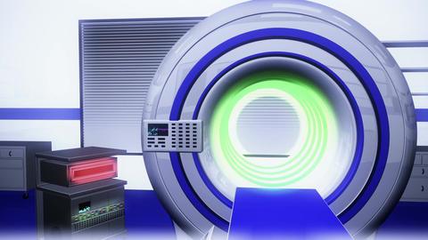 Operation Room MRI CT Machine 23 Stock Video Footage