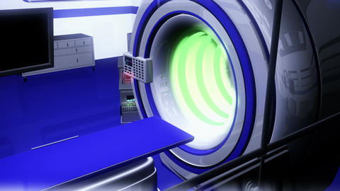 Operation Room MRI CT Machine 29 Animation