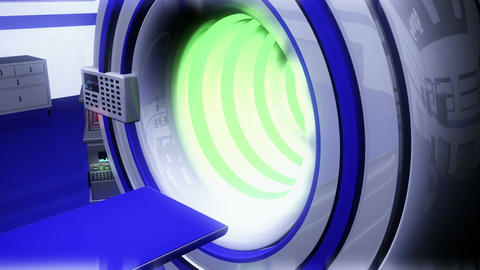 Operation Room MRI CT Machine 29 Stock Video Footage