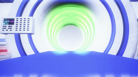 Operation Room MRI CT Machine 31 Animation