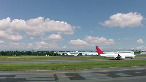 Traffic at the airport Stock Video Footage