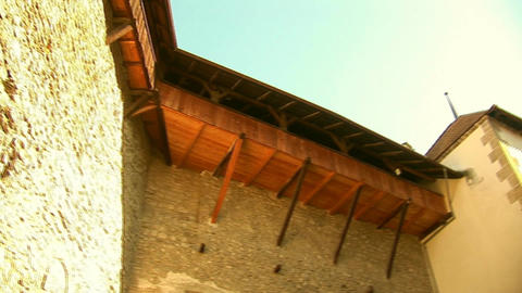 Chillon Castle B stock footage