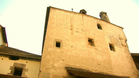 Chillon Castle b Stock Video Footage