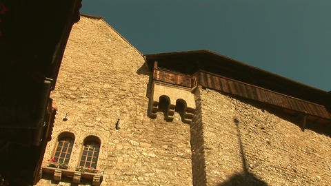Chillon Castle d Footage