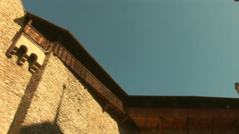 Chillon Castle d Stock Video Footage