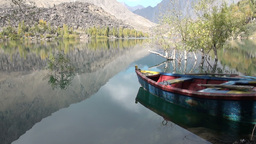 Kachura lake - Northern Pakistan Stock Video Footage